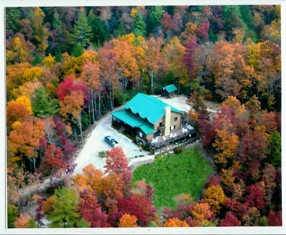 Colorful Fall in the Tennessee mountains