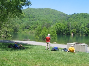 Watauga Lake is a good rest for AT hikers